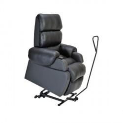 Kit de mobilité pour fauteuil releveur Cocoon.