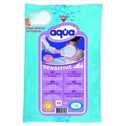 Gant de toilette tout prêt Aqua Sensitive