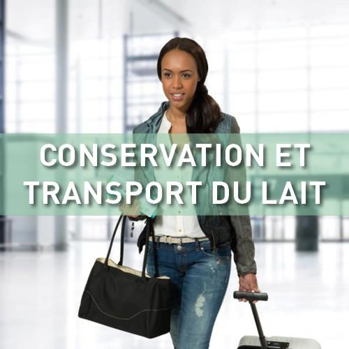 Conservation et transport du lait