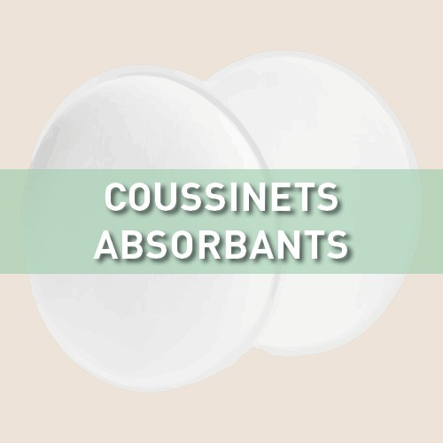 Coussinets absorbants