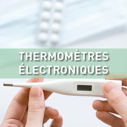 Thermomètres électroniques