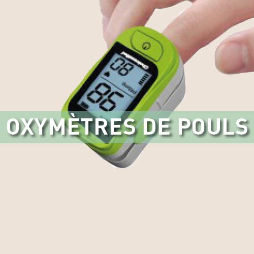 Oxymètres de pouls