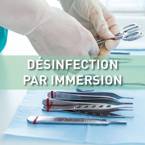 Désinfection par immersion