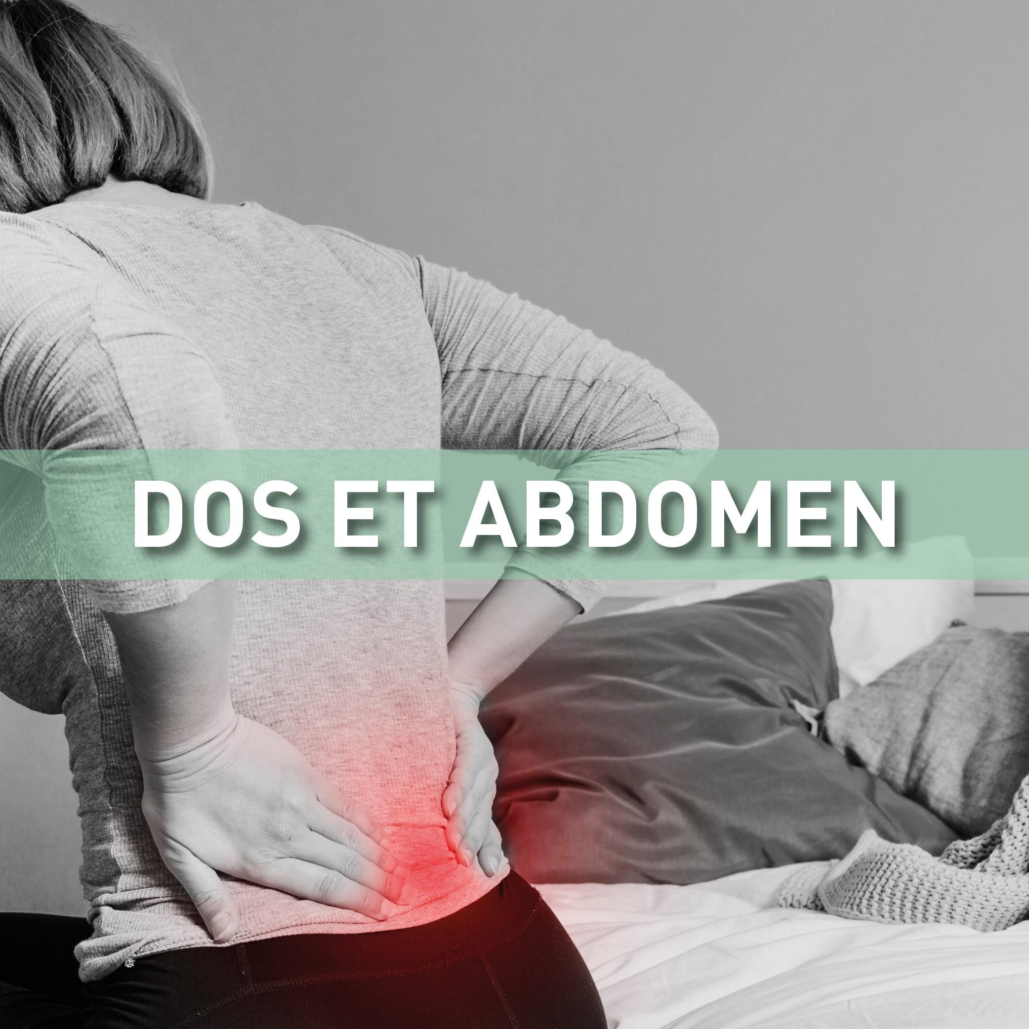 Dos et abdomen