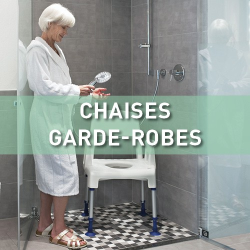 Chaises garde-robes