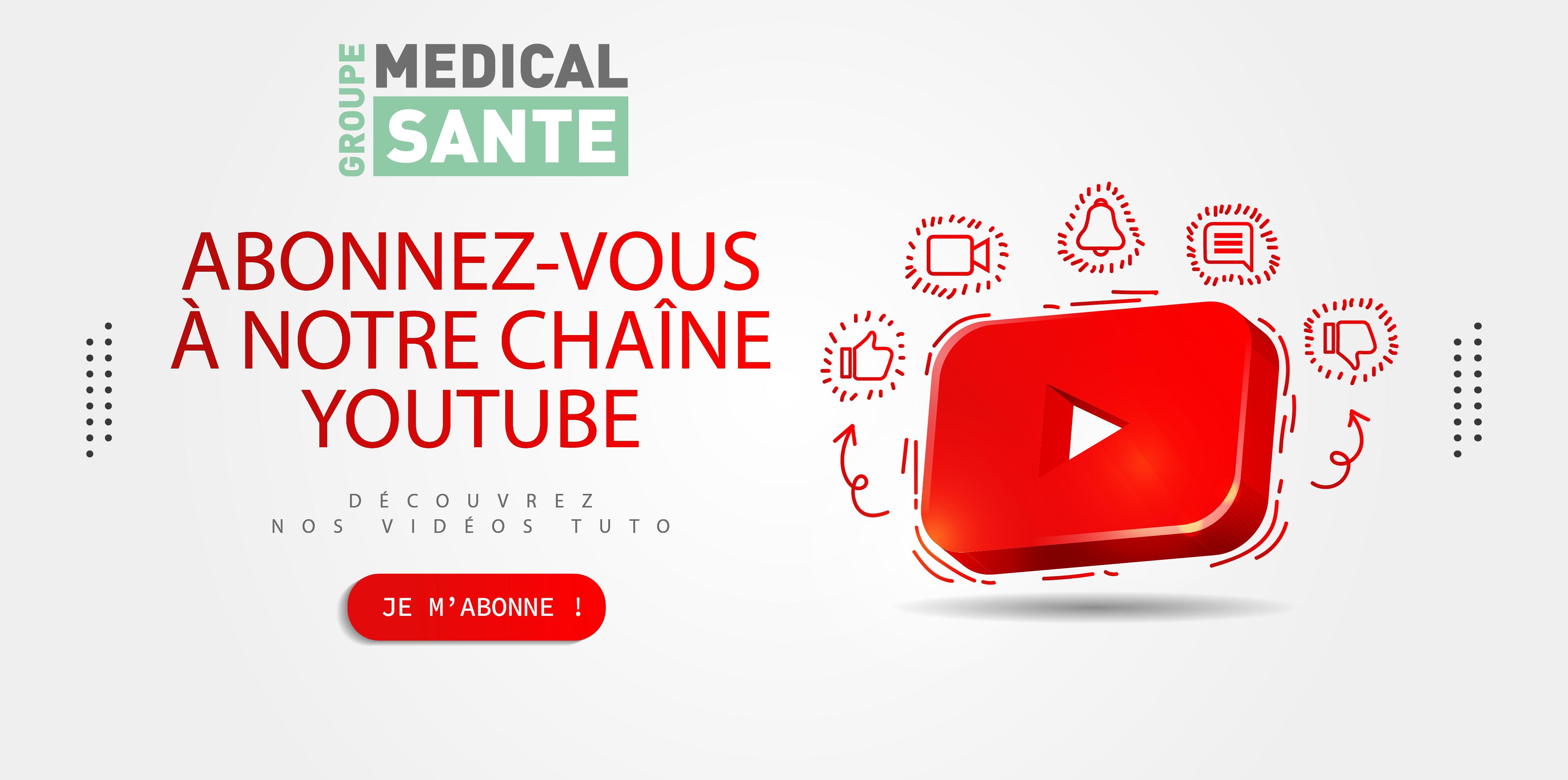 Chaine youtube groupe médical santé